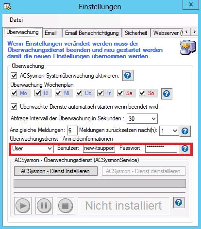 Internet-Überwachungsdienst